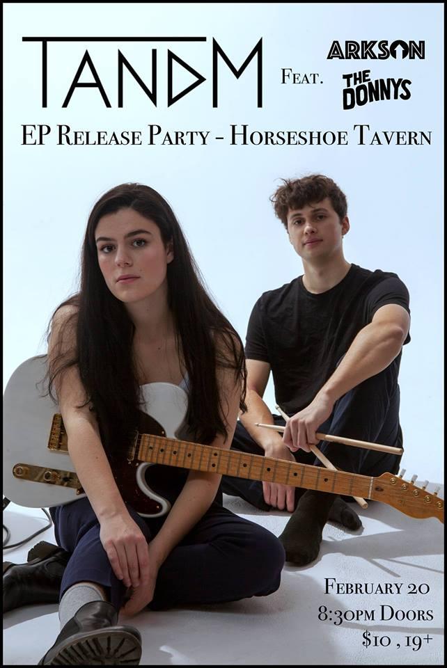 TANDM EP Release Party @ The Horseshoe Tavern February 2019