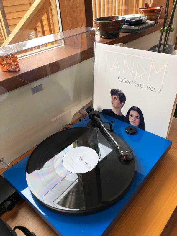 """TANDM """"Reflections Vol. 1"""" Vinyls"""