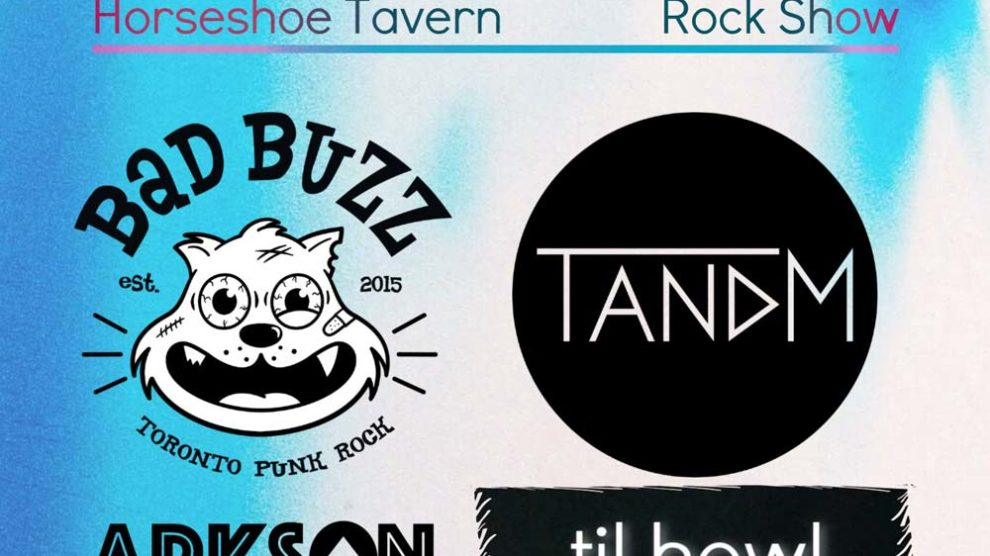 TANDM @ The Legendary Horseshoe Tavern - August 22, 2019