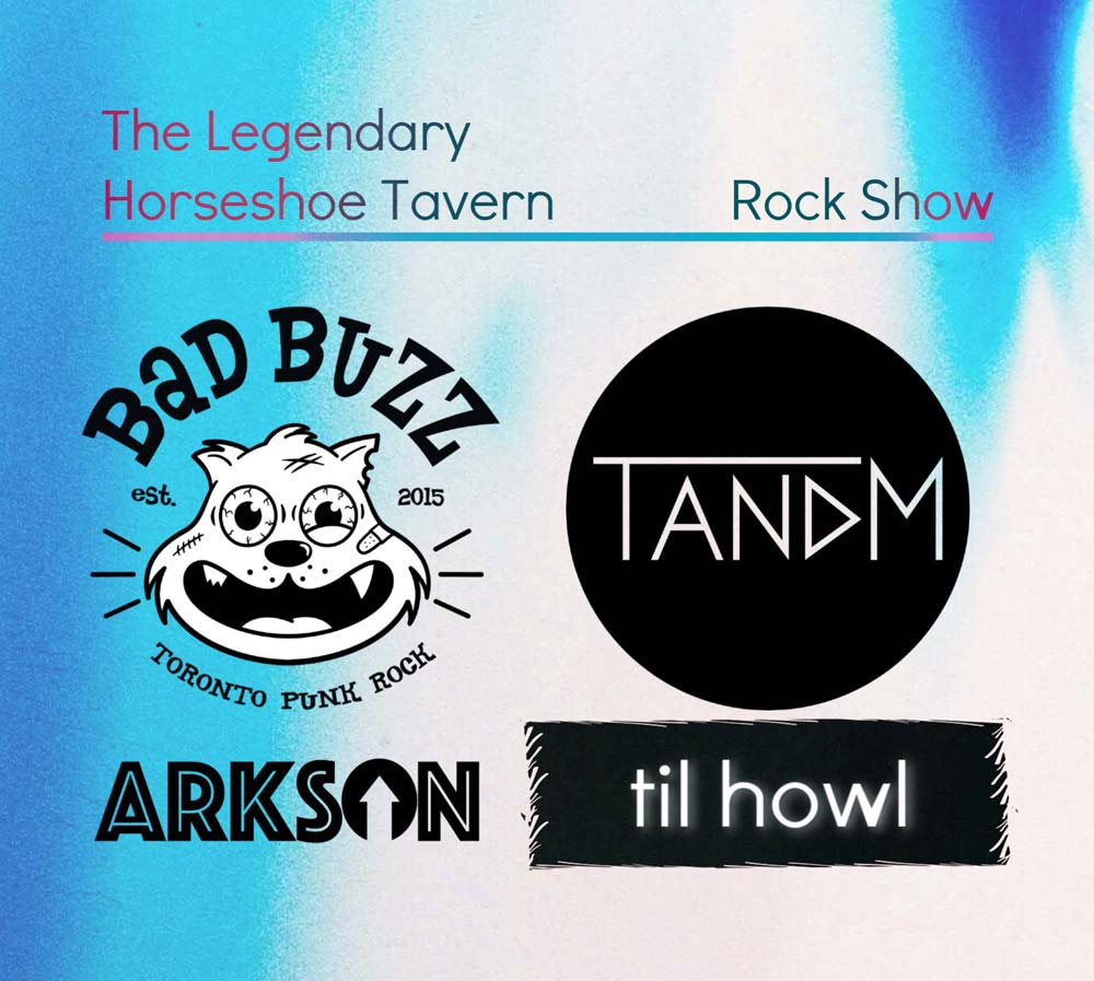 TANDM @ The Legendary Horseshoe Tavern - August 22, 2019