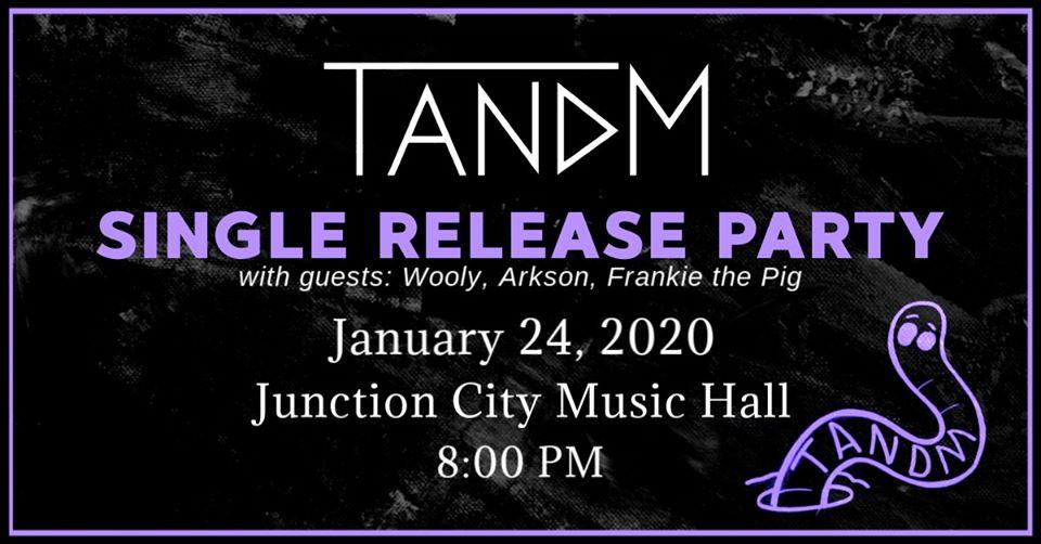 TANDM - Junction City Music Hall - January 24, 2020